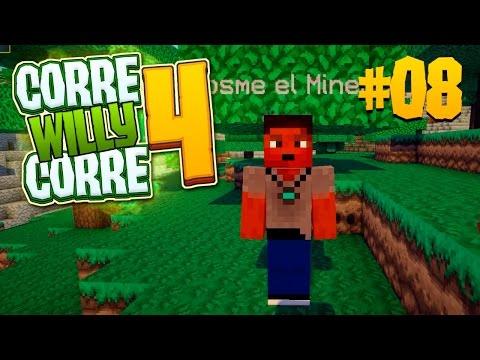 PIOLIN Y EL MINERO BORDE! #CorreWillyCorre4 | Episodio 8 | MINECRAFT Mods Serie