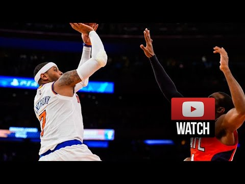 Carmelo Anthony Full Highlights vs Hawks (2014.11.10) - 25 Pts, 9 Reb, 7 Ast