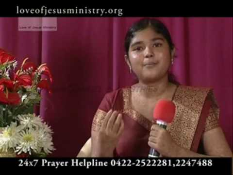 Miracles of Jesus | Christian Supernatural Miracle Testimony of  Sindhuja