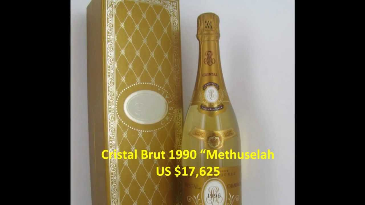 Expensive Champagne Cristal 4 Most Expensive Champagne in
