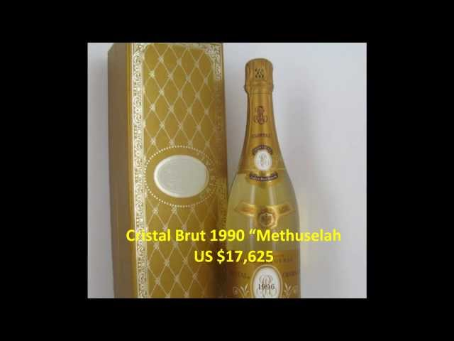 Expensive Champagne Cristal 4 Most Expensive Champagne