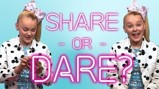 JOJO SIWA Shares What's In Her Phone | SHARE OR DARE