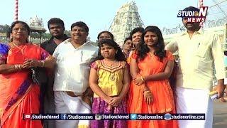 TDP MP Siva Prasad And His Family Visits Tirumala Temple
