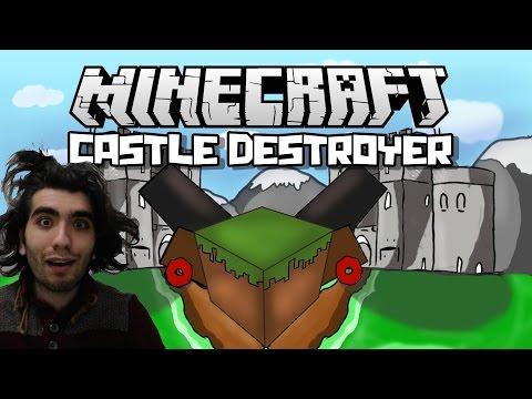 Minecraft GG Castle Destroyer Bölüm 2 w CravledToygatArdaBatıkanBarışBurak Akmanoğlu