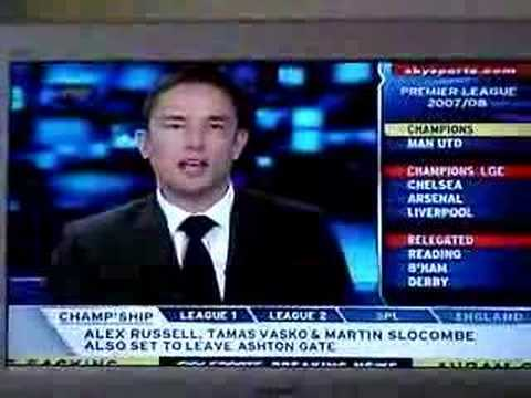 Oops live on Sky Sports News, a C word gaff of the highest order!
