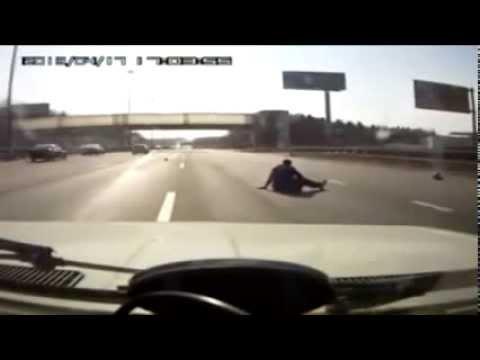 Аварии и ДТП на автобанах Германии