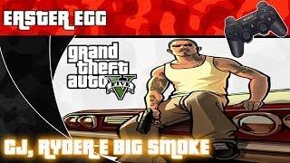 GTA V - Easter Egg - CJ  - ( GTA San Andreas ) Português PT-BR ( Sem Spoilers )