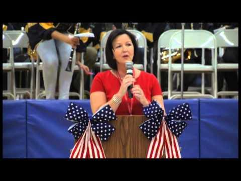 Shady Grove Elementary's Veteran's Day Celebration 2015