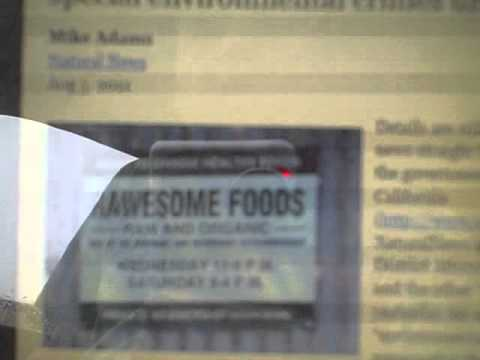 """RAWESOME FOODS""-Raid Was Staged-Rawesome was obvious C.I.A. Front"
