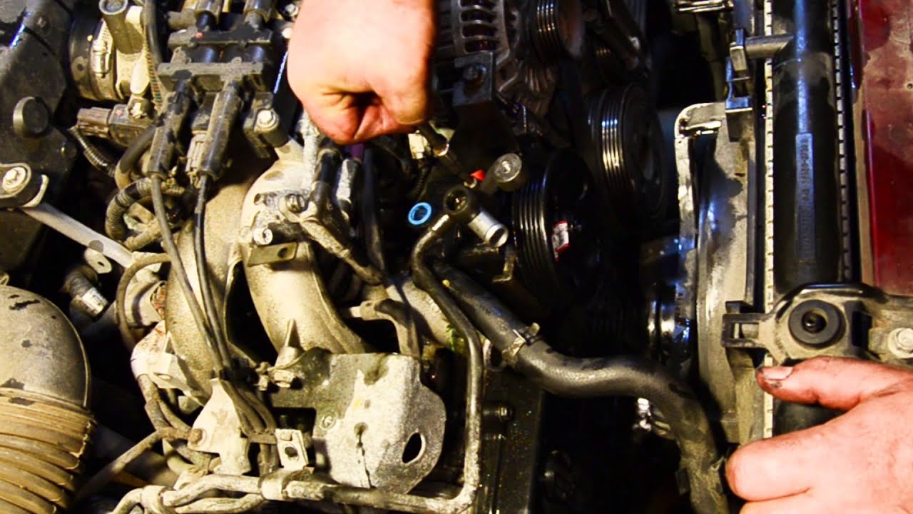 Subaru Outback 2002 Power Steering Replacement Youtube