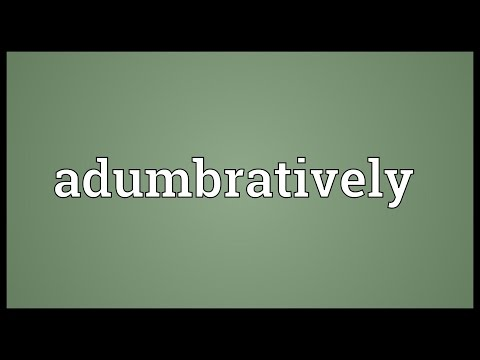 Header of adumbratively