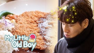 Kim Jong Kook.. Can't We Just Eat it Happily..? [My Little Old Boy Ep 122]