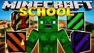 Minecraft School : BLOWING UP THE SCHOOL WITH TNT!!