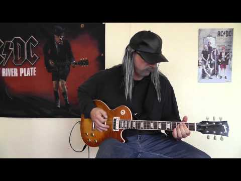 AC/DC - Big Gun cover by RhythmGuitarX