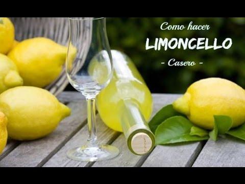 Como hacer limoncello en casa licor italiano youtube for Como hacer piscicultura en casa