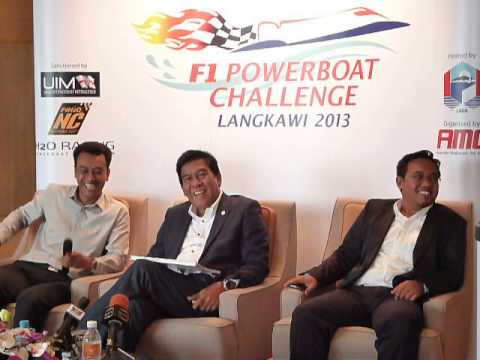 Langkawi To Be Season-Opener For F1H2O Powerboat Nations Cup 2013 - part 2