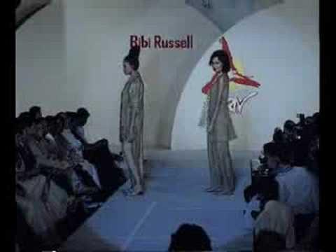 Tomar Dil Ki Doya Hoy Na - Bibi Russell fashion show