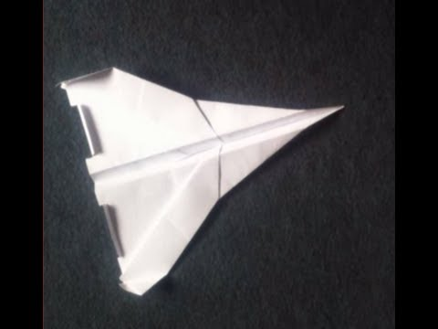 Tutoriel comment faire un avion en papier videolike - Tuto avion en papier ...