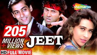 Jeet  {HD} - Salman Khan - Sunny Deol - Karishma Kapoor - Superhit Hindi Movie -(With Eng Subtitles)