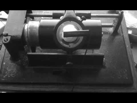 Electric Phonograph Cylinder Transfer using Home Built Pick up