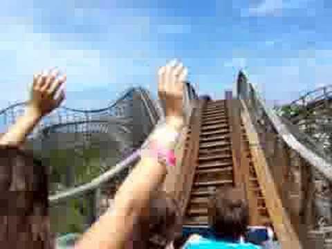 Dania Beach Hurricane Roller Coaster at Boomers