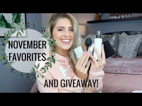 NOVEMBER MUST HAVES   Fitness, Beauty & More!