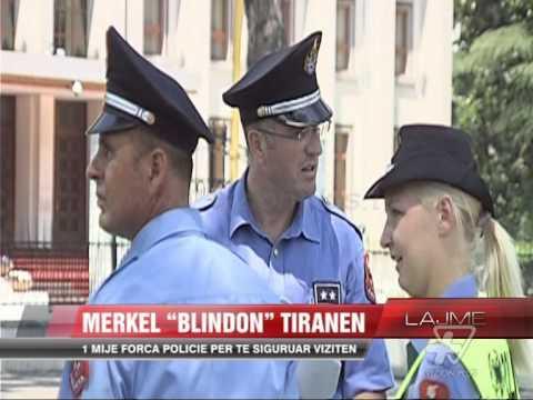 """Merkel """"blindon"""" Tiranën - News, Lajme - Vizion Plus"""