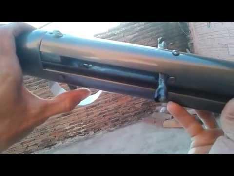 Arma de pressão caseira parte 2
