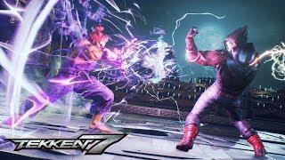 Tekken 7 - All 39 Characters & Rage Arts + DLC (Geese, Eliza, Noctis)
