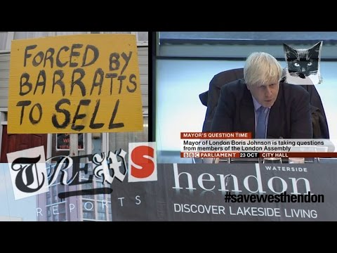 Boris Johnson's Penthouses for Oligarchs in West Hendon - Russell Brand Trews Reports (E12)