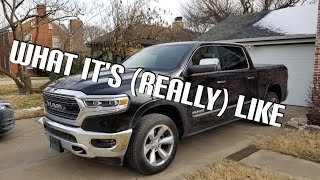 2019 RAM 1500 LIMITED - 1 Month Ownership Review