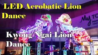 2019 CNY ~ LED Acrobatic Lion Dance @ My TOWN 高桩舞狮表演