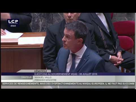 Gros mensonge de Valls qui se prend pour le Hollande