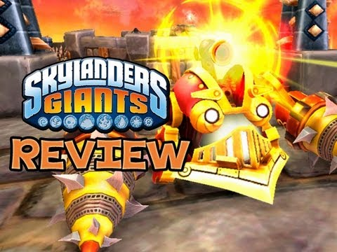 SKYLANDERS GIANTS - Drill Sergeant SKYLANDER REVIEW