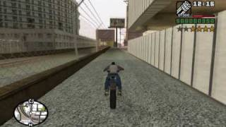 How to get three different Miniguns at the very beginning of the game - GTA San Andreas PC