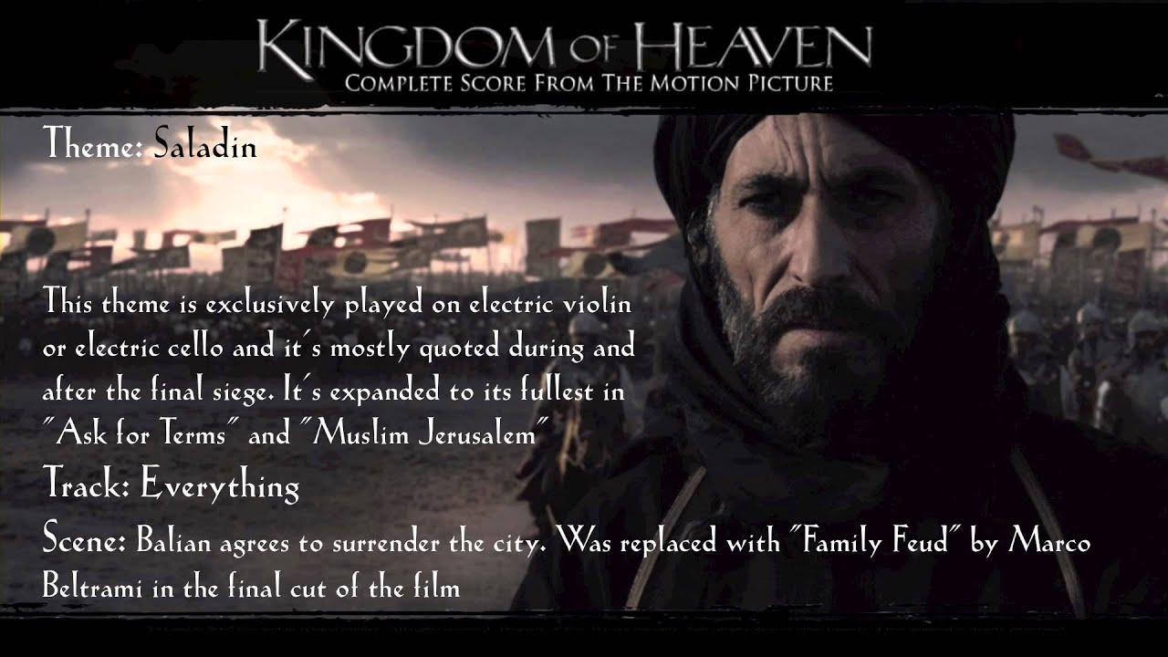 the kingdom of heaven final Shot on location in spain and morocco, director ridley scott's kingdom of heaven is certainly a feast for the eyes featuring a final battle extravaganza that will have filmgoers murmuring in appreciation, the picture does not stint on showmanship but its mega-millions budget might have been put to better.