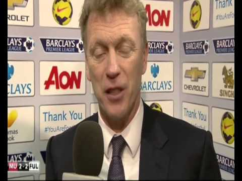 David Moyes - The Funniest Interview yet! Man United are Doomed!