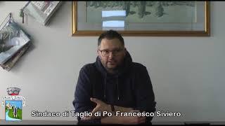 COMUNICATO DEL 18 MARZO EMERGENZA CORONAVIRUS CON IL SINDACO FRANCESCO SIVIERO