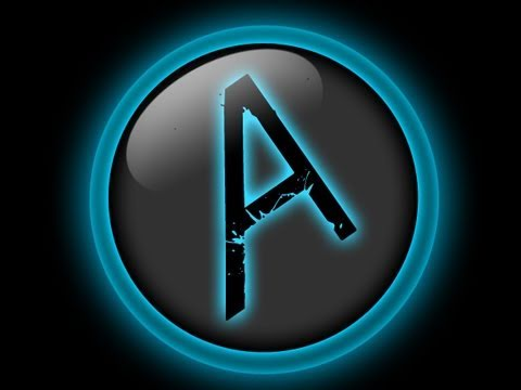 Photoshop CS5: Glossy Blue Logo Tutorial