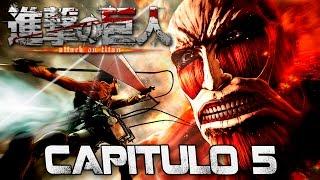 Shingeki no Kyojin I Capítulo 5 I Lets Play I Español I Ps4 I 1080p