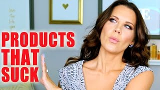 PRODUCTS THAT SUCK | Luxury & Drugstore