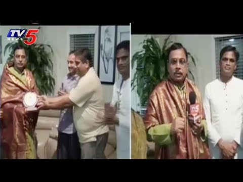Jonnavithula Ramalingeswara Rao Attend Telugu Sahithi Samskruthi Meet & Greet in Atlanta | TV5 News