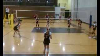 Briley serves 9 straight points for Parkside Volleyball 7A