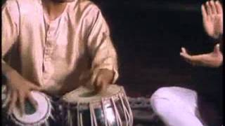 Zakir Hussein - Tabla Solo in Panchamsaveri (15 Beats)
