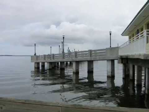 New Titusville, Florida Fishing Pier  on the Indian River
