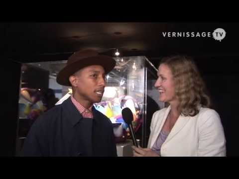 Interview with Pharrell Williams at Art Basel 2009