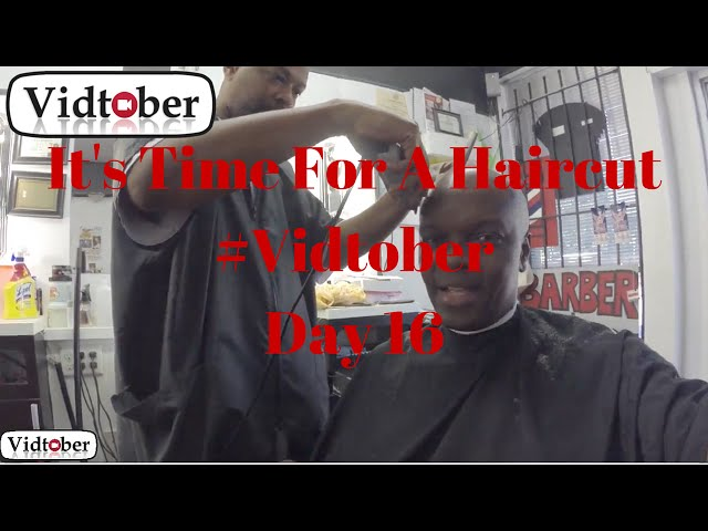 Video #16 of #Vidtober 16 October 2014. It's Time For A Haircut and a Visit To Statesman Park