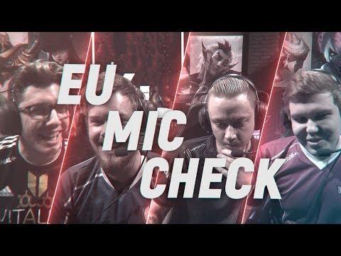 EU LCS Mic Check: Week 3 | Spring Split 2018