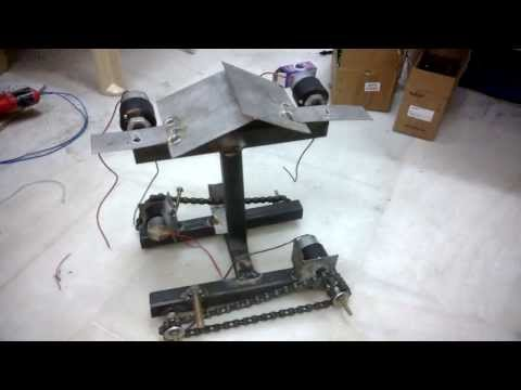Drive Mechanisms For Robots Tank Chain Driven Drive Robot