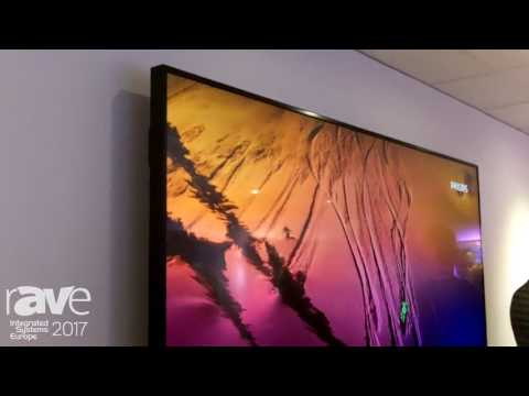 ISE 2017: Philips Debuts 86″ Q-Line Professional Display